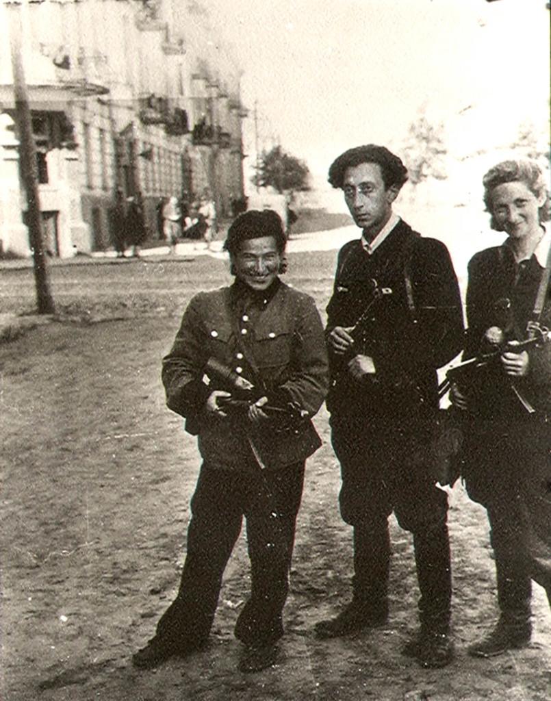 Еврейские партизаны: Ружка Корчак, Аба Ковнер, Витка Кемпнер