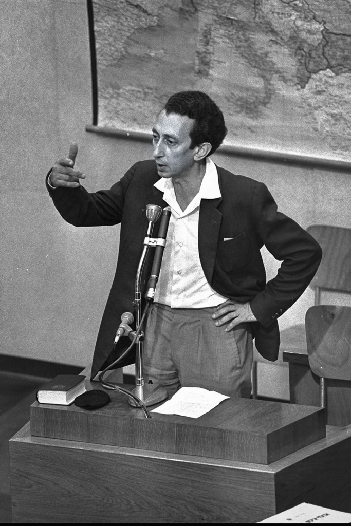 Ковнер на суде над Адольфом Эйхманом