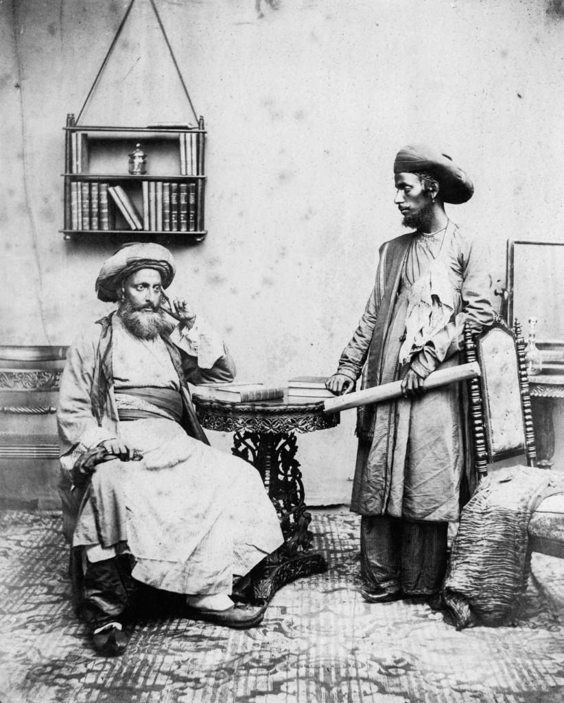 Преподаватели иврита из числа Бней-Исраэль. Бомбей, 1856 год