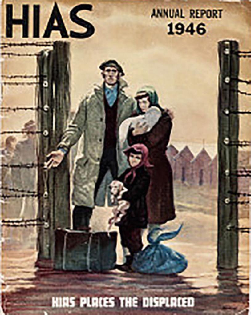 Представители HIAS помогали воссоединиться семьям — отыскать выживших родственников или хотя бы получить информацию об их судьбе. Обложка журнала, который HIAS выпускалов прошлом столетии